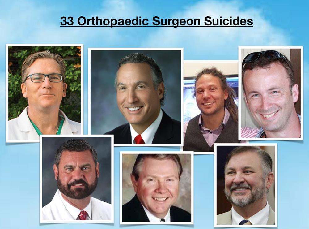 Orthopaedic surgeon suicides