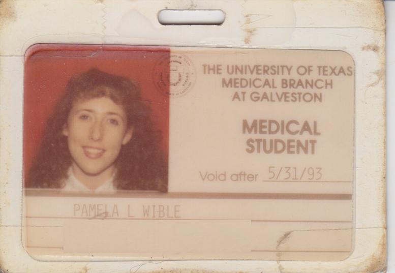 Pamela Wible Med School ID