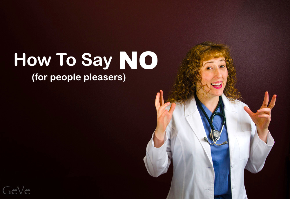 Say NO to people pleasers